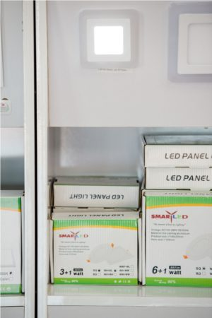 SMART LED COLORFUL PANEL LIGHT-14-3+1W