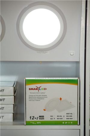 SMART LED COLORFUL PANEL LIGHT- 13-18+2W