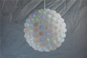 LED FLOWER YQ -111 ROSE BALL