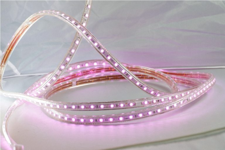 5050 LED STRIP ROLL - PINK/328FT
